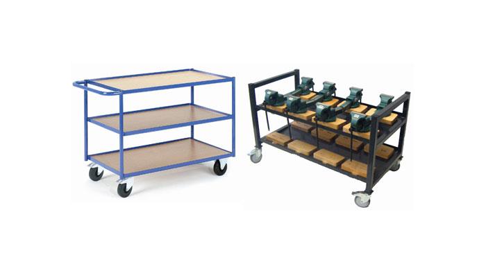 Materialtransport & Aufbewahrung